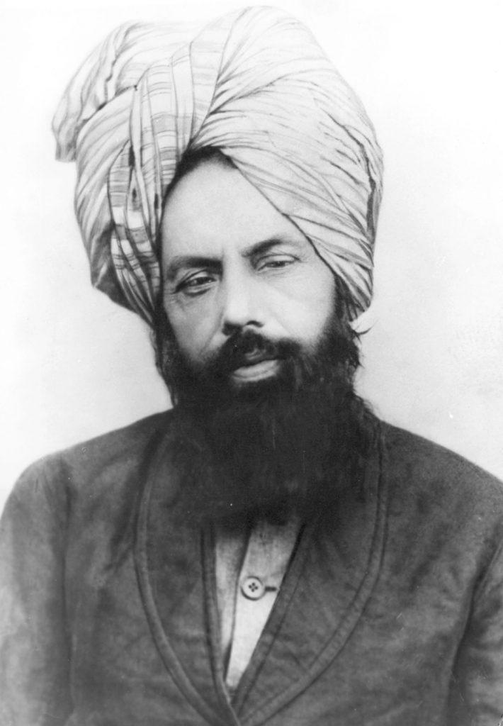 Mirza Ghulam Ahmad c. 1897