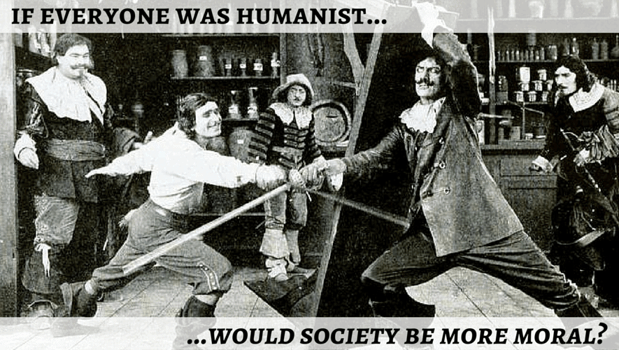 If Everyone Was Humanist, Would Society be More Moral?