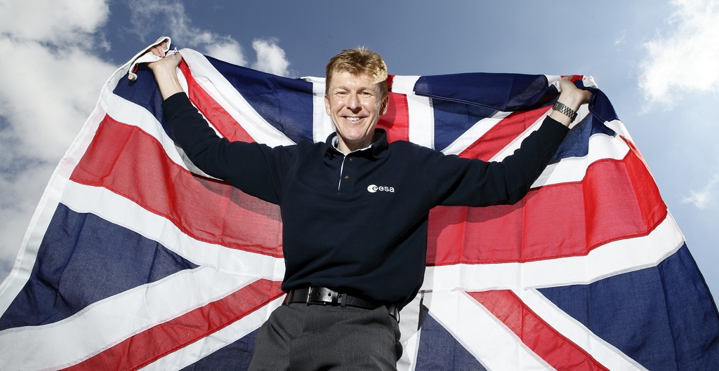 "Astronaut Tim Peake: ""The Universe Might Be Designed"" [AUDIO]"